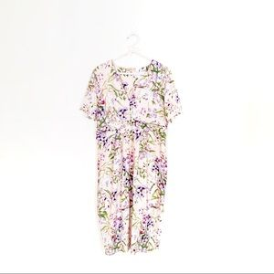 ASOS floral maternity dress- size 10